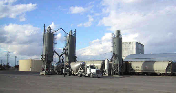 New Silos for Phoenix Cement Company in 2001.